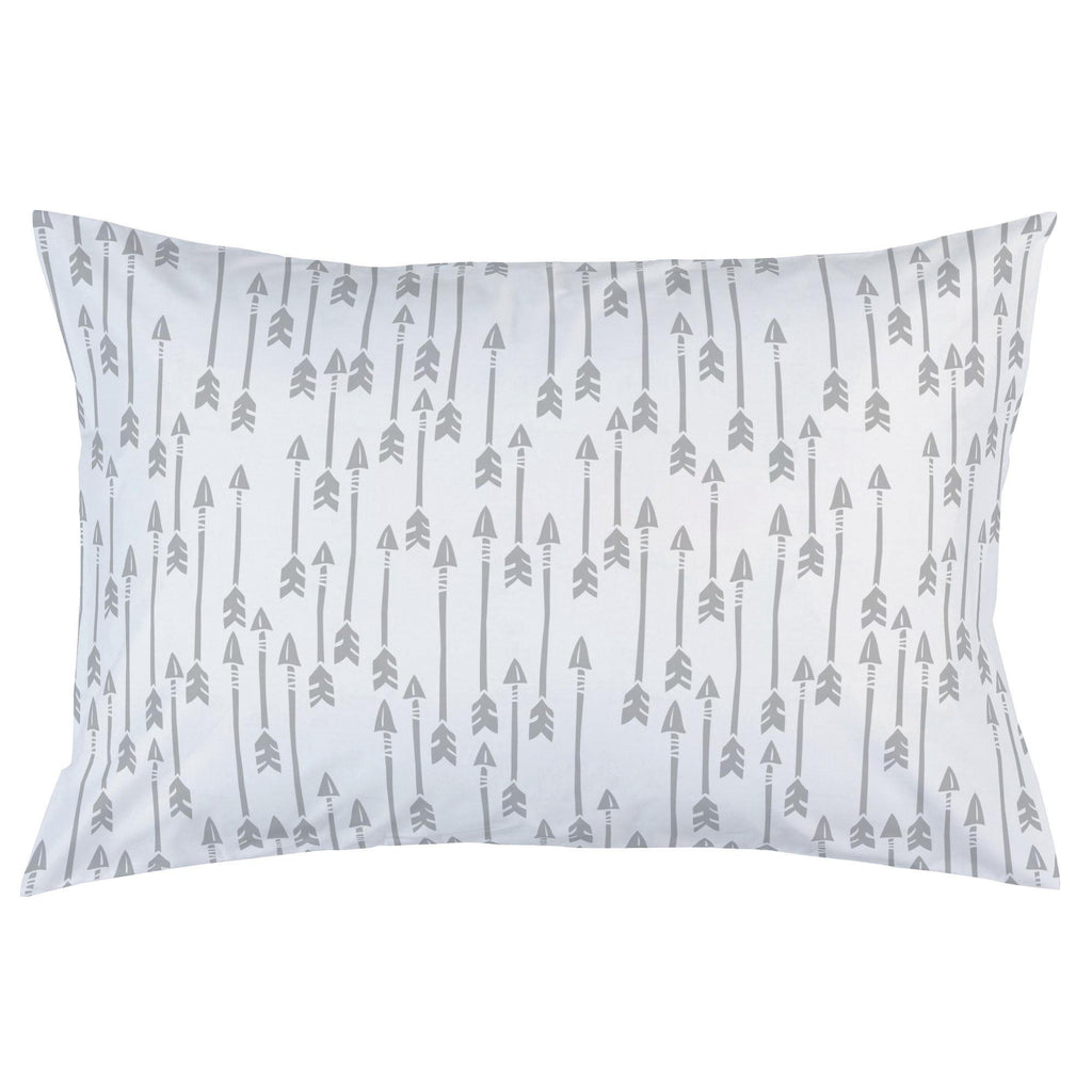 Product image for Silver Gray Flying Arrow Pillow Case