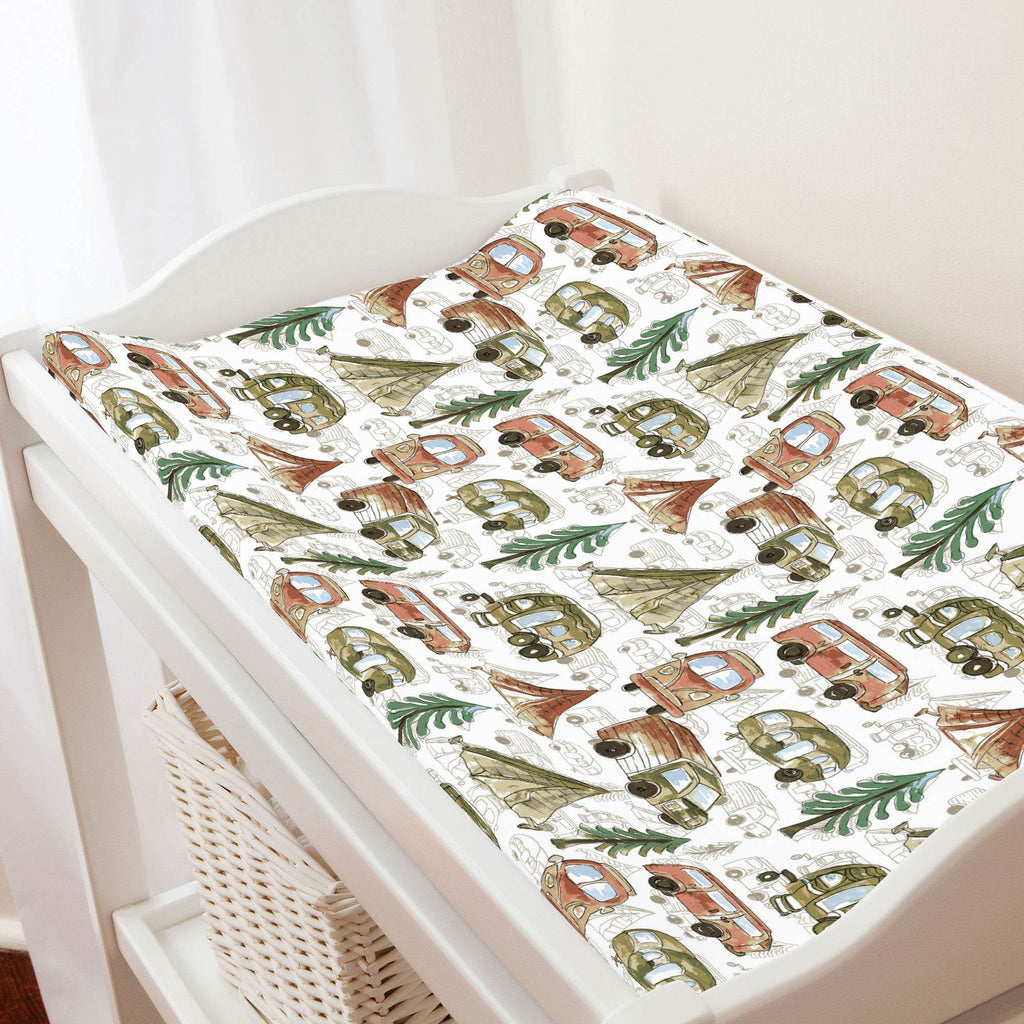 Product image for Gone Camping Changing Pad Cover