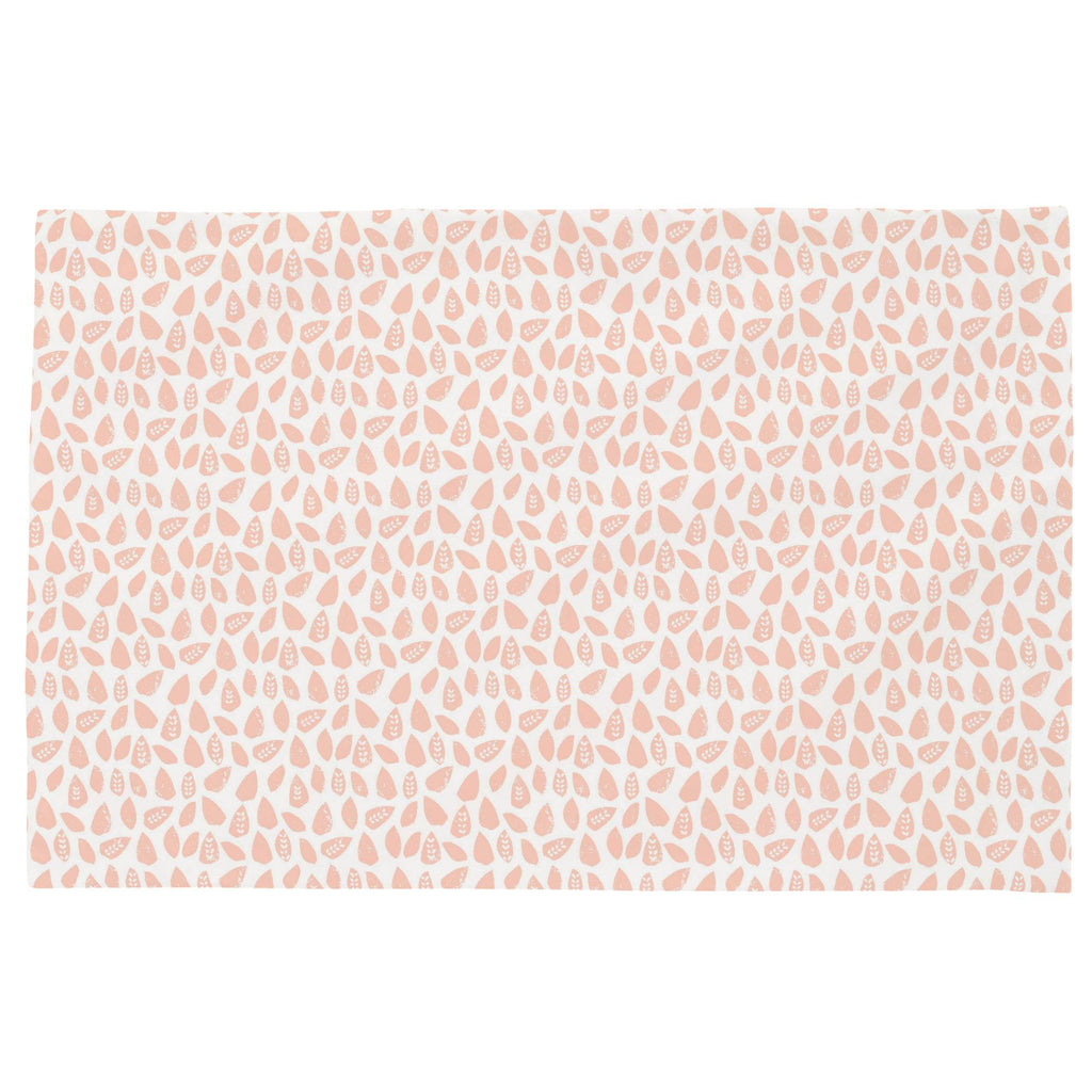 Product image for Peach Woodland Leaf Toddler Pillow Case