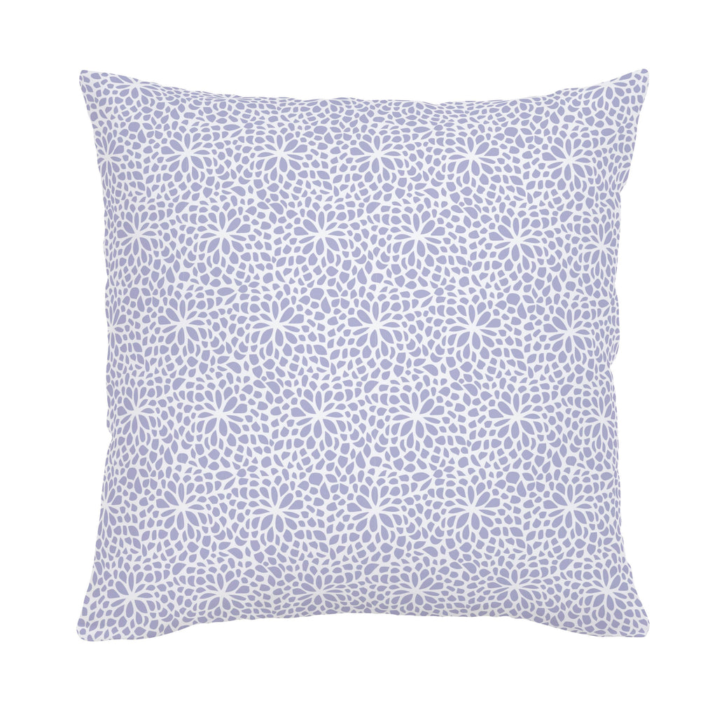 Product image for Lavender Modern Mums Throw Pillow