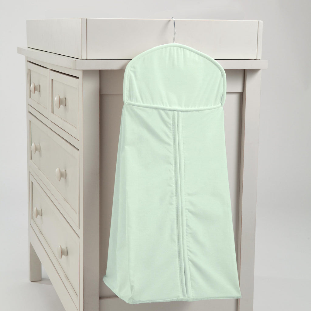 Product image for Solid Icy Mint Diaper Stacker