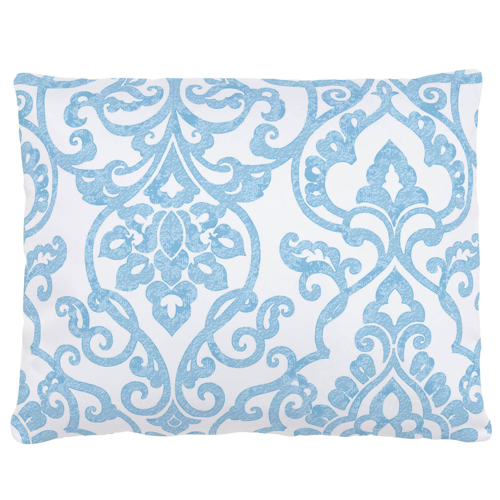 Product image for Blue Filigree Accent Pillow