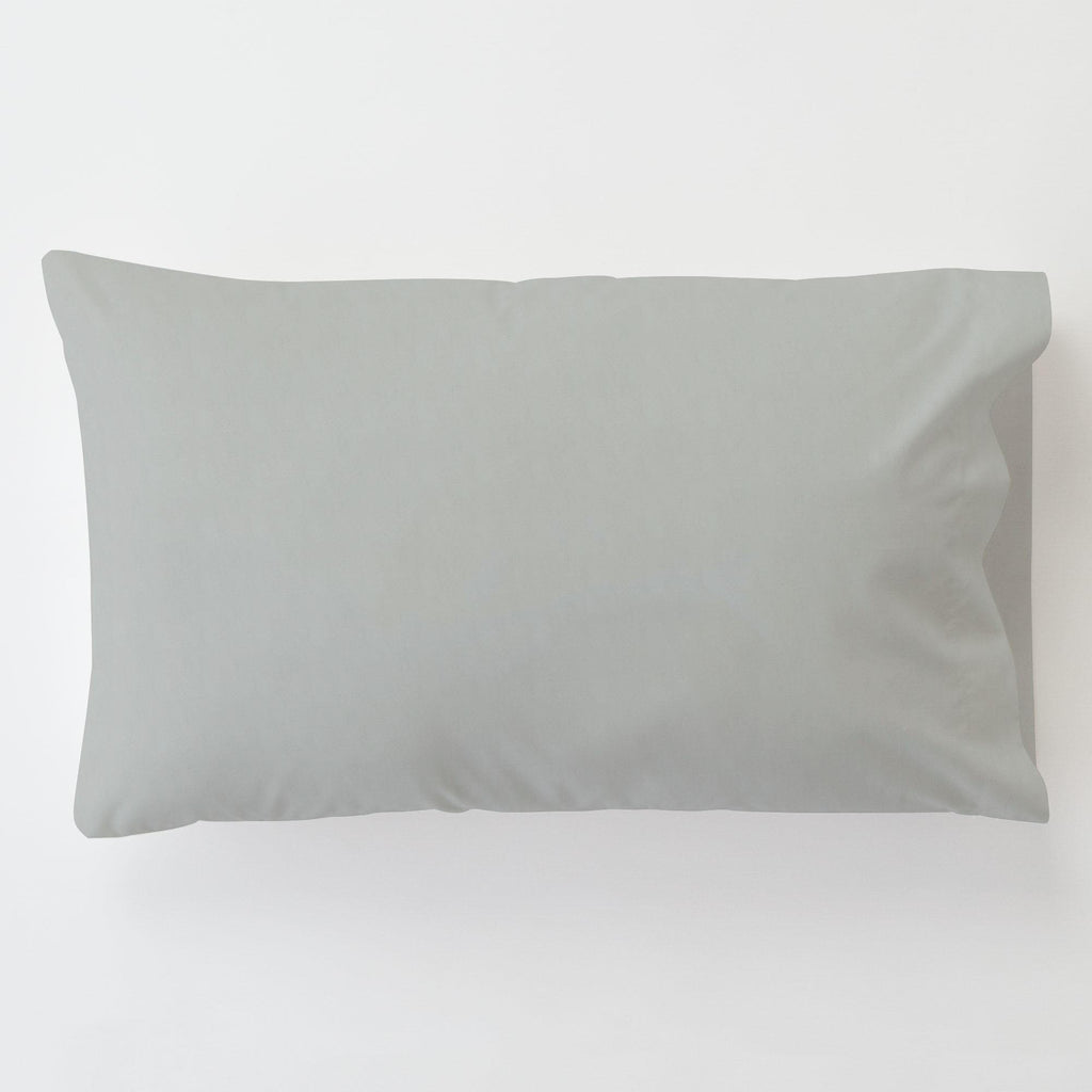 Product image for Silver Gray Minky Toddler Pillow Case with Pillow Insert