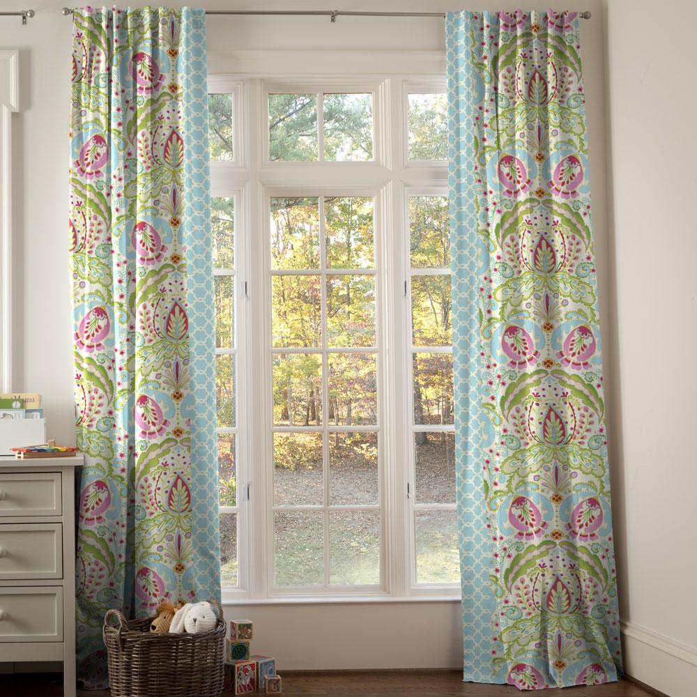 Product image for Kumari Garden Teja Drapes with Trim
