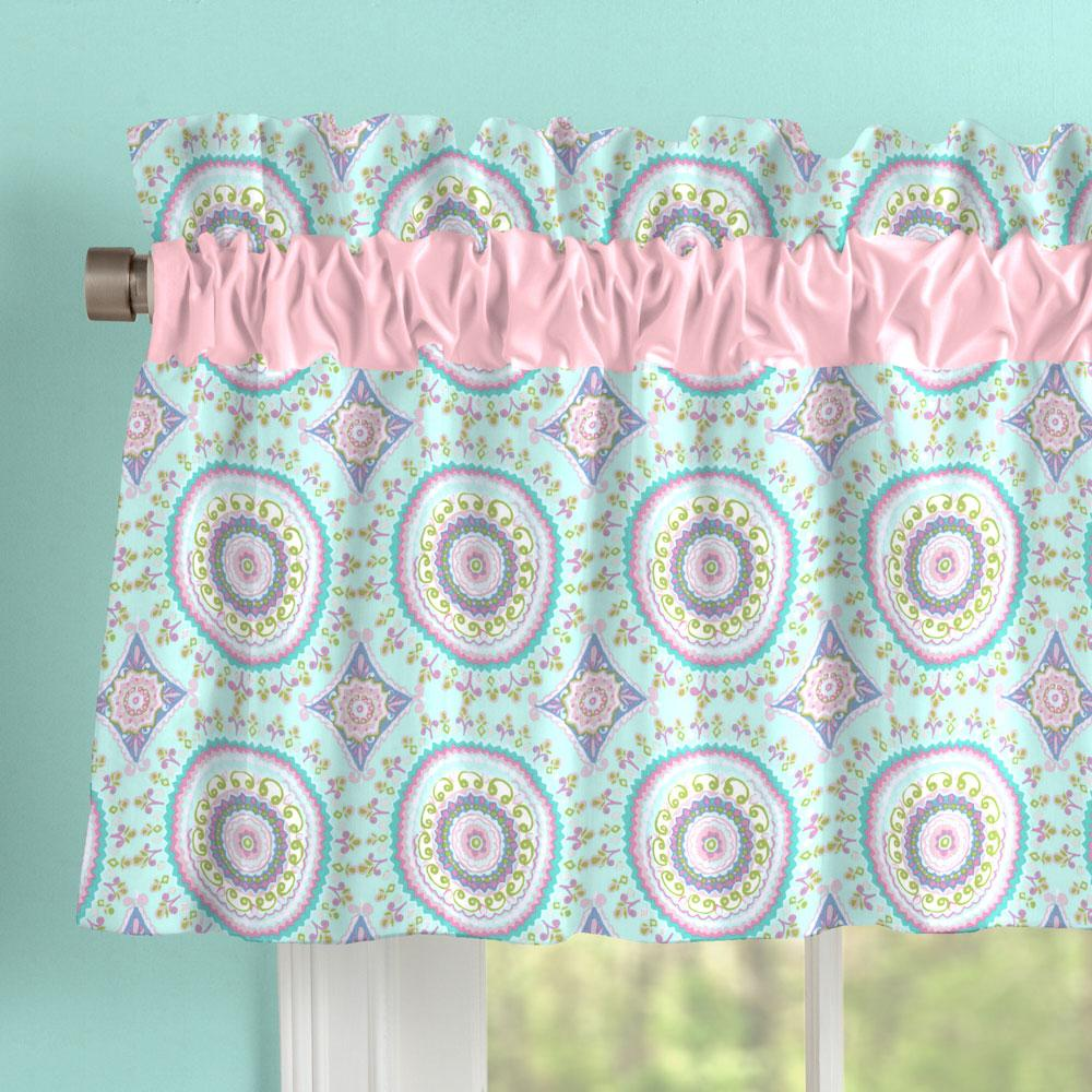 Product image for Aqua Haute Circles Window Valance