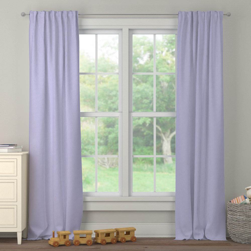 Product image for Lilac Heather Drape Panel