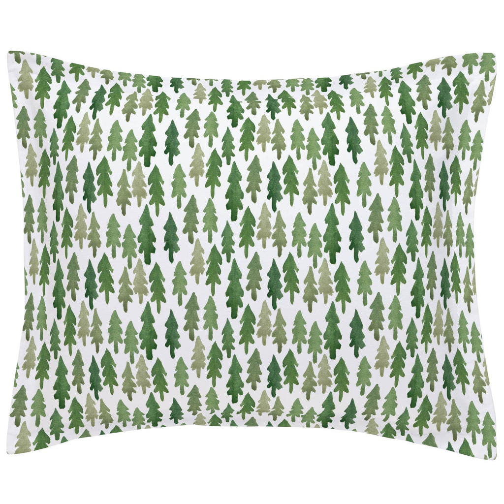Product image for Evergreen Forest Pillow Sham
