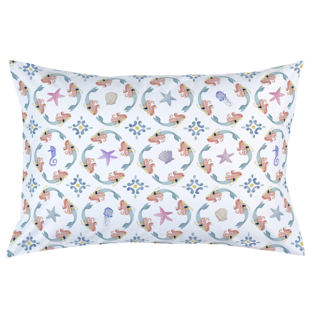Product image for Mermaid Medallion Pillow Case