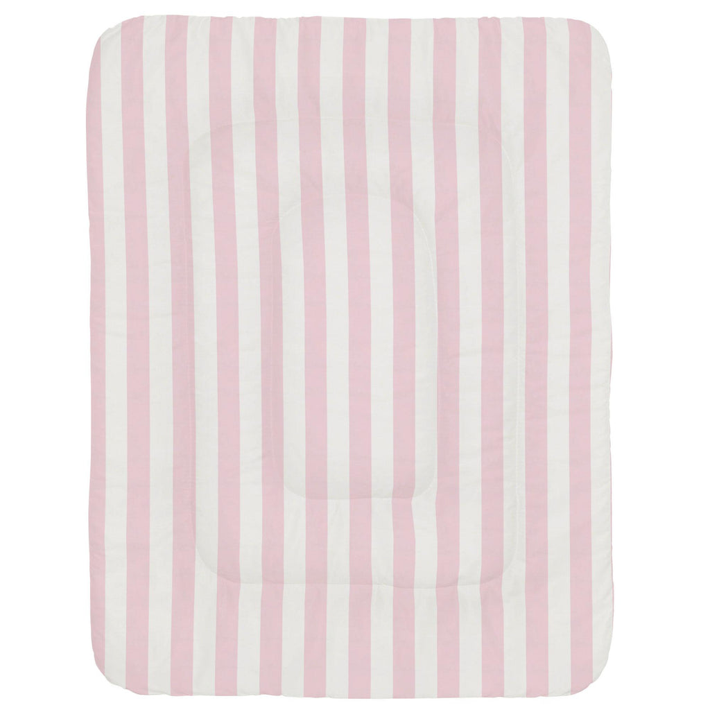 Product image for Pink Stripe Crib Comforter