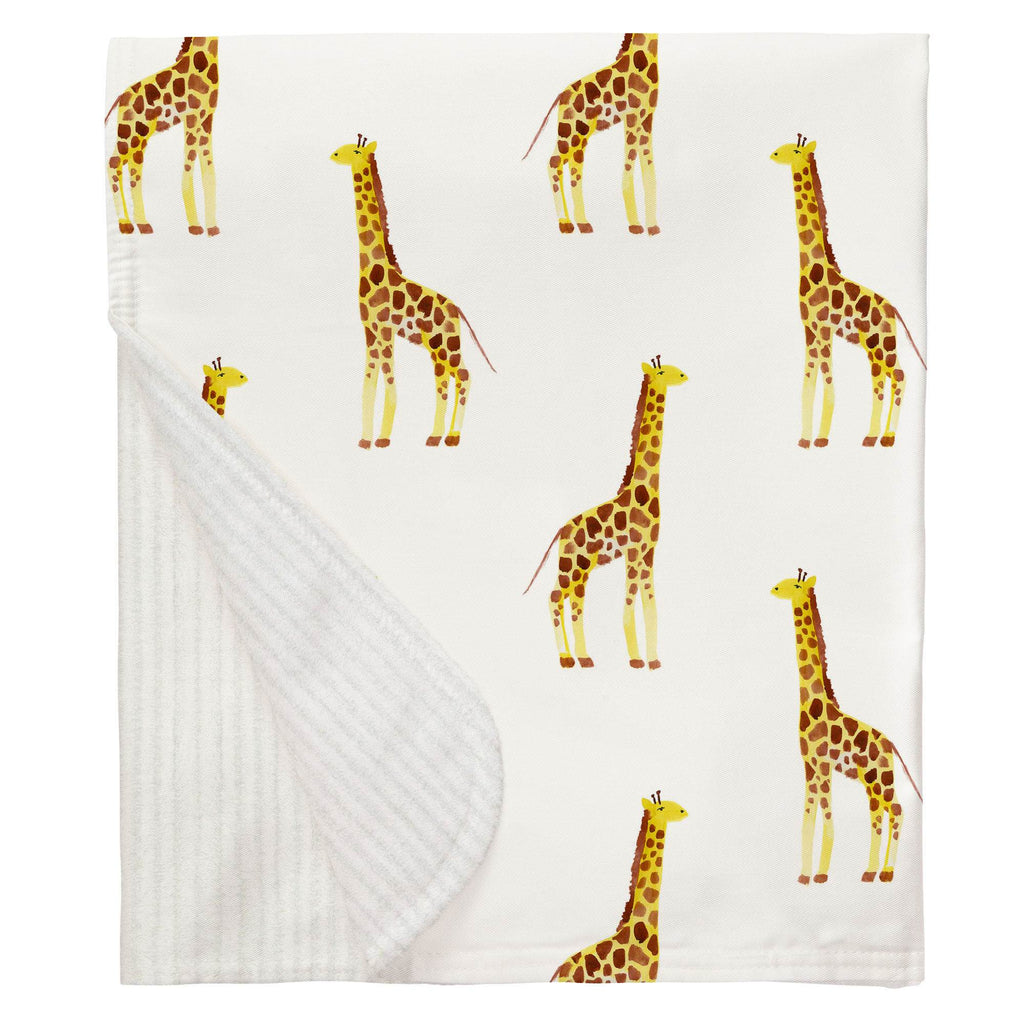 Product image for Painted Giraffe Baby Blanket