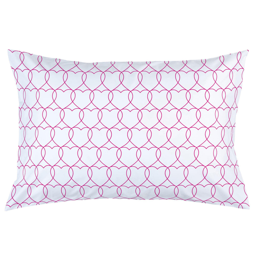 Product image for Fuchsia Sweetheart Pillow Case