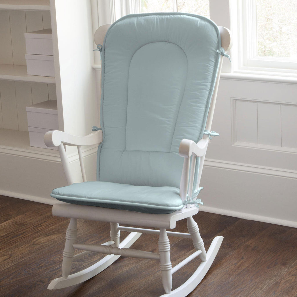 Product image for Solid Robin's Egg Blue Rocking Chair Pad