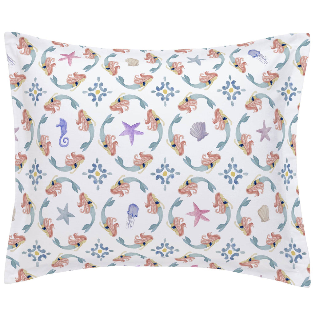 Product image for Mermaid Medallion Pillow Sham
