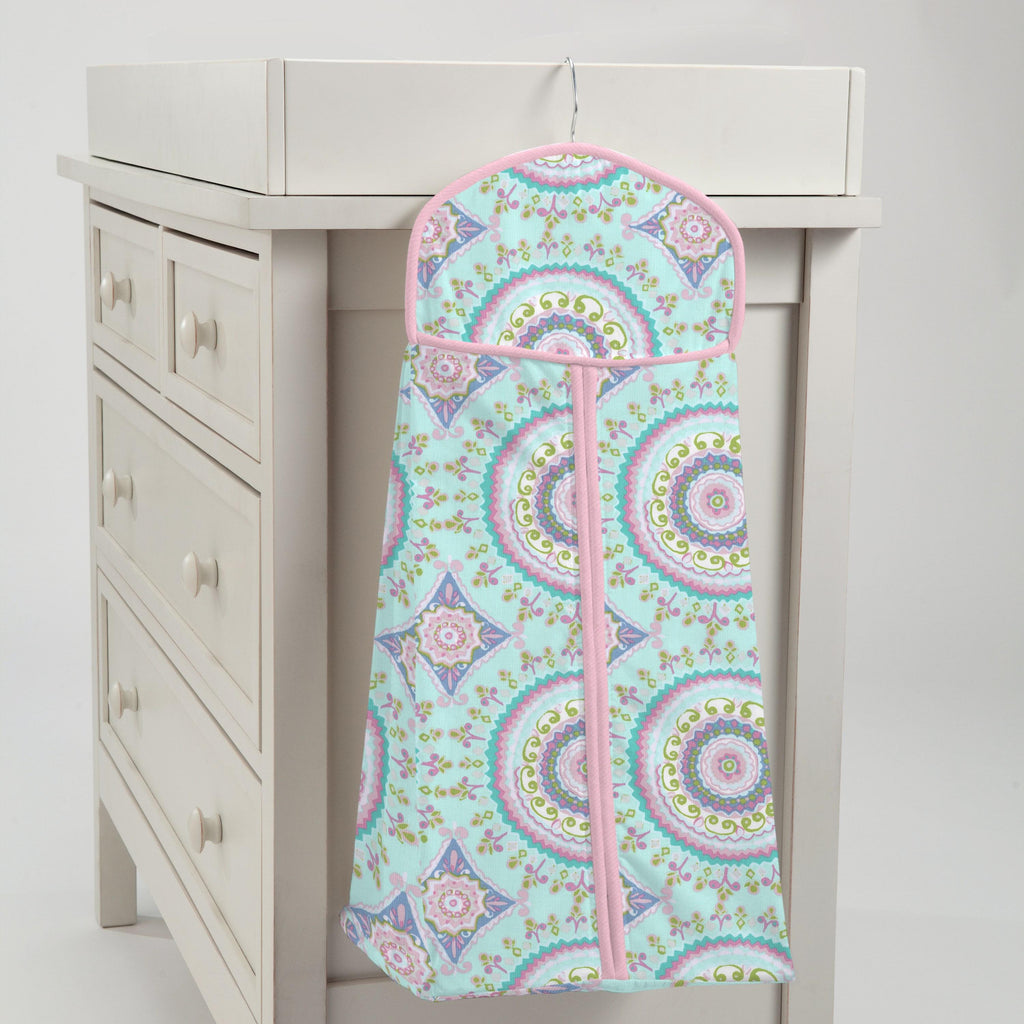 Product image for Aqua Haute Circles Diaper Stacker