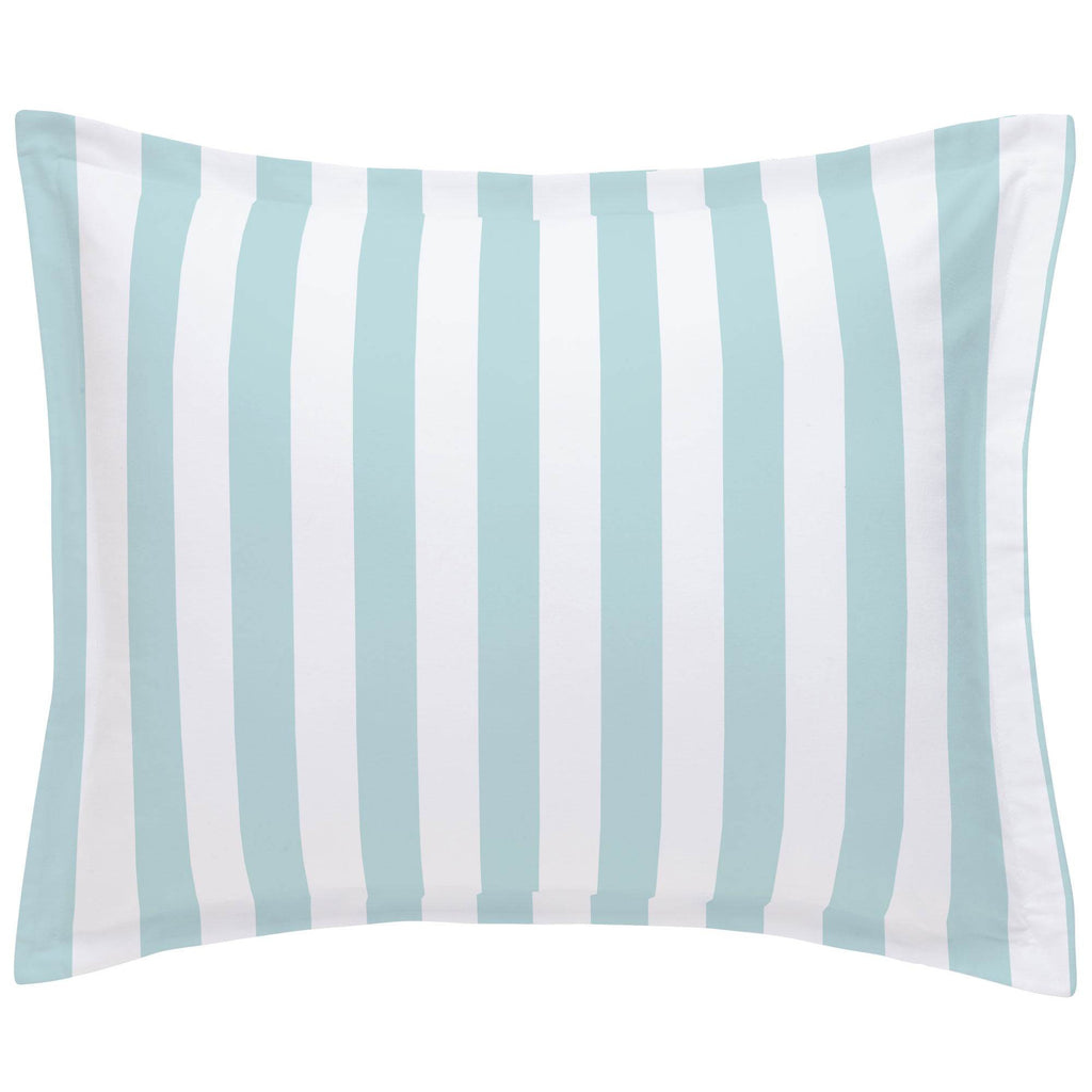Product image for Mist Canopy Stripe Pillow Sham