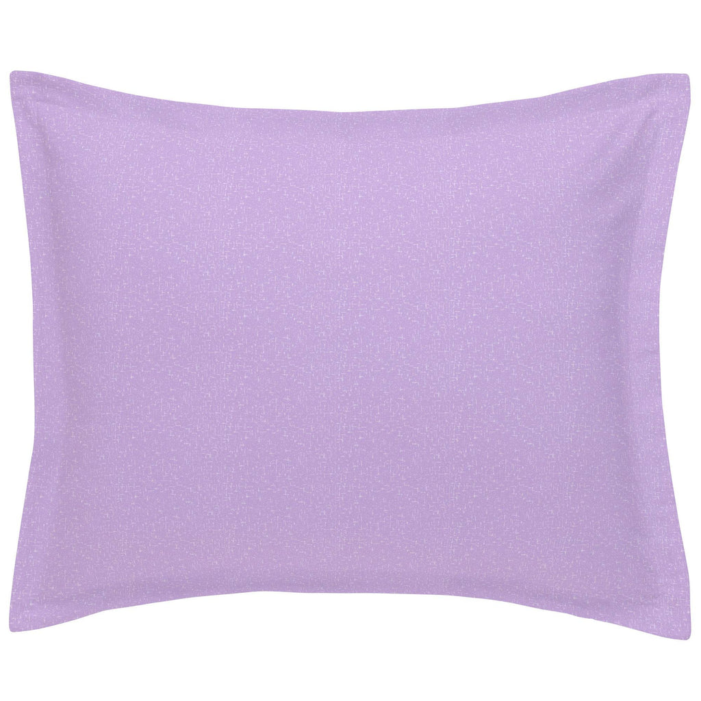 Product image for Pastel Purple Heather Pillow Sham