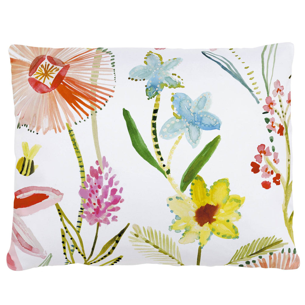 Product image for Watercolor Springtime Accent Pillow