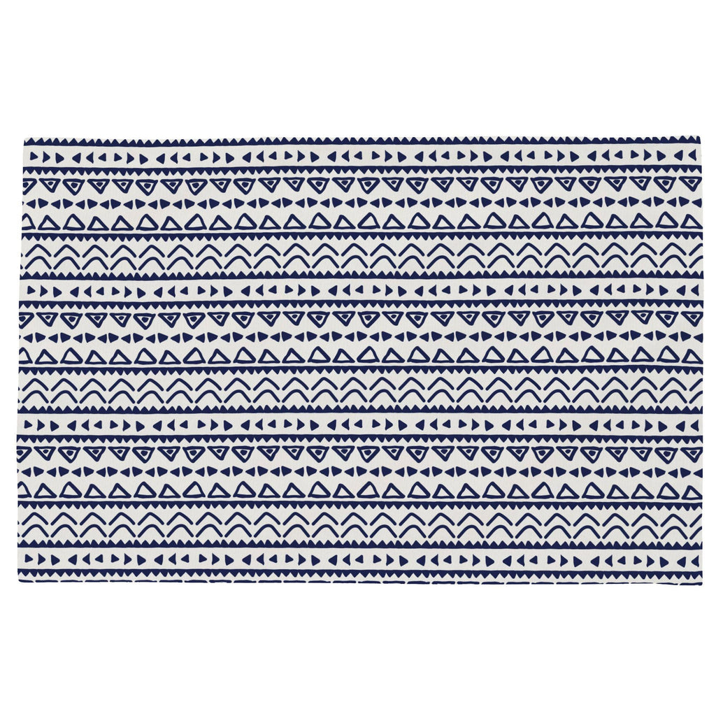 Product image for Windsor Navy Baby Aztec Toddler Pillow Case