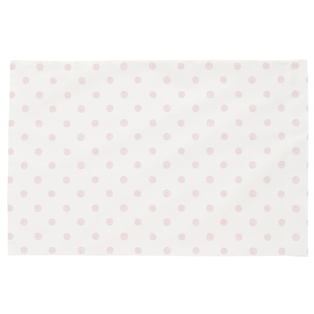 Product image for Pink Ditsy Dot Toddler Pillow Case