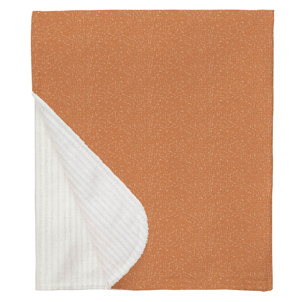 Product image for Fox Orange Heather Baby Blanket
