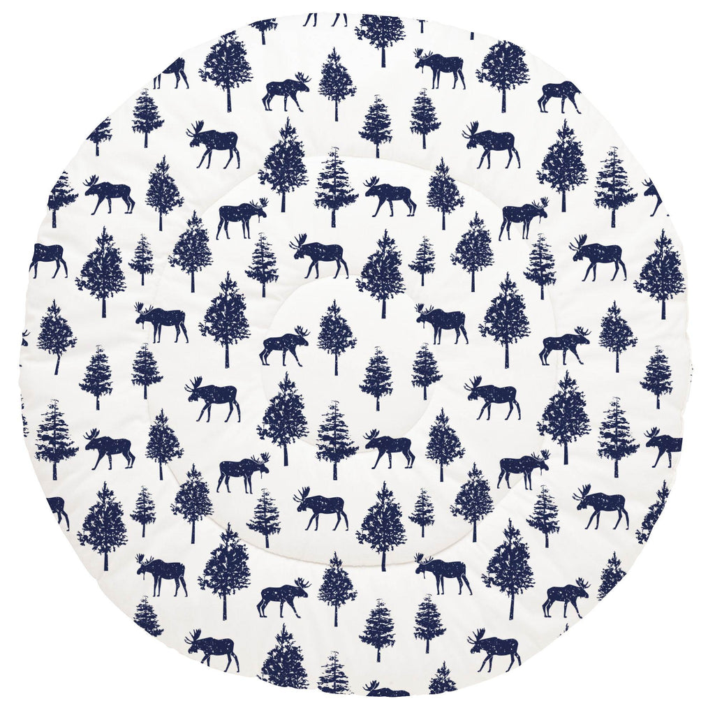 Product image for Navy Moose Baby Play Mat