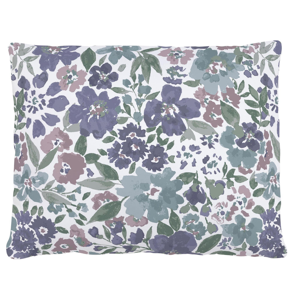 Product image for Purple Prairie Floral Accent Pillow