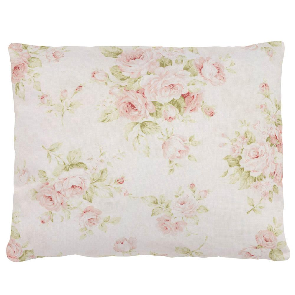 Product image for Pink Floral Accent Pillow