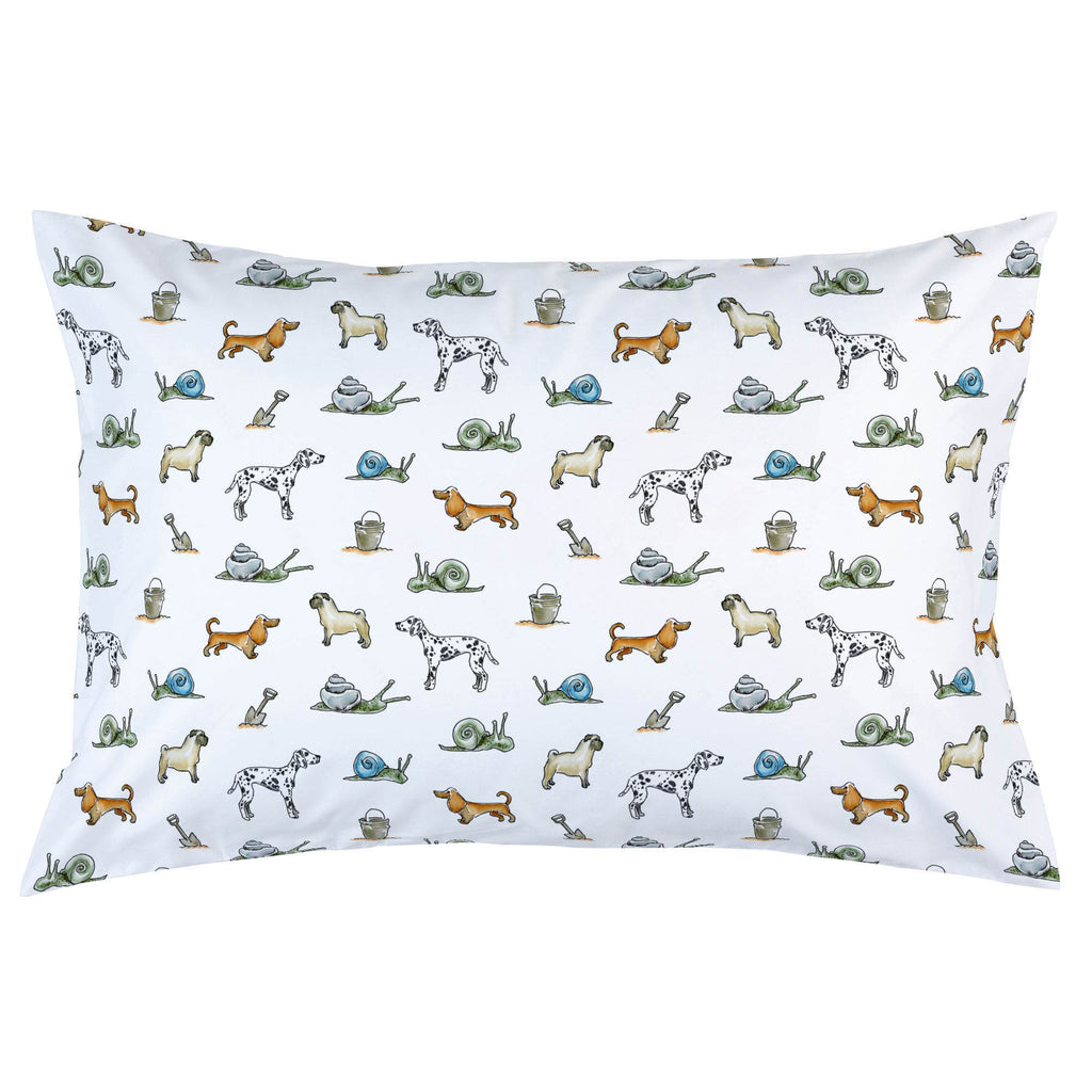 Product image for Snails and Tails Pillow Case