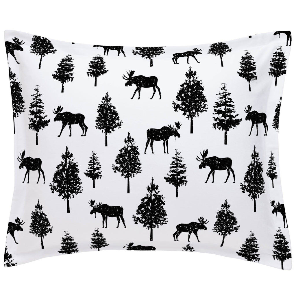 Product image for Onyx Moose Pillow Sham