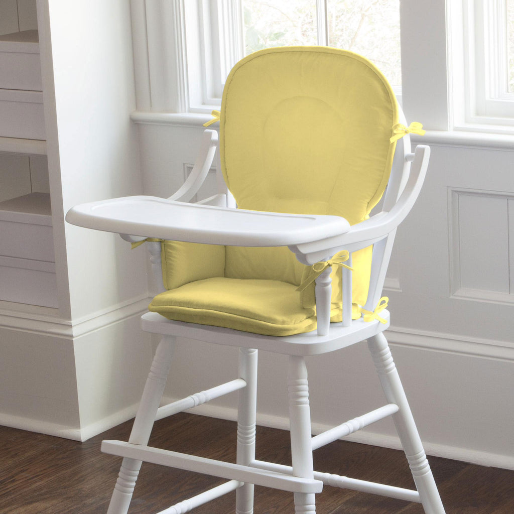 Product image for Solid Banana High Chair Pad
