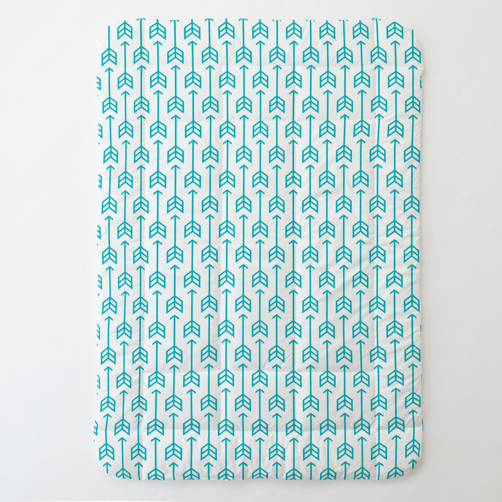 Product image for Teal Arrow Toddler Comforter