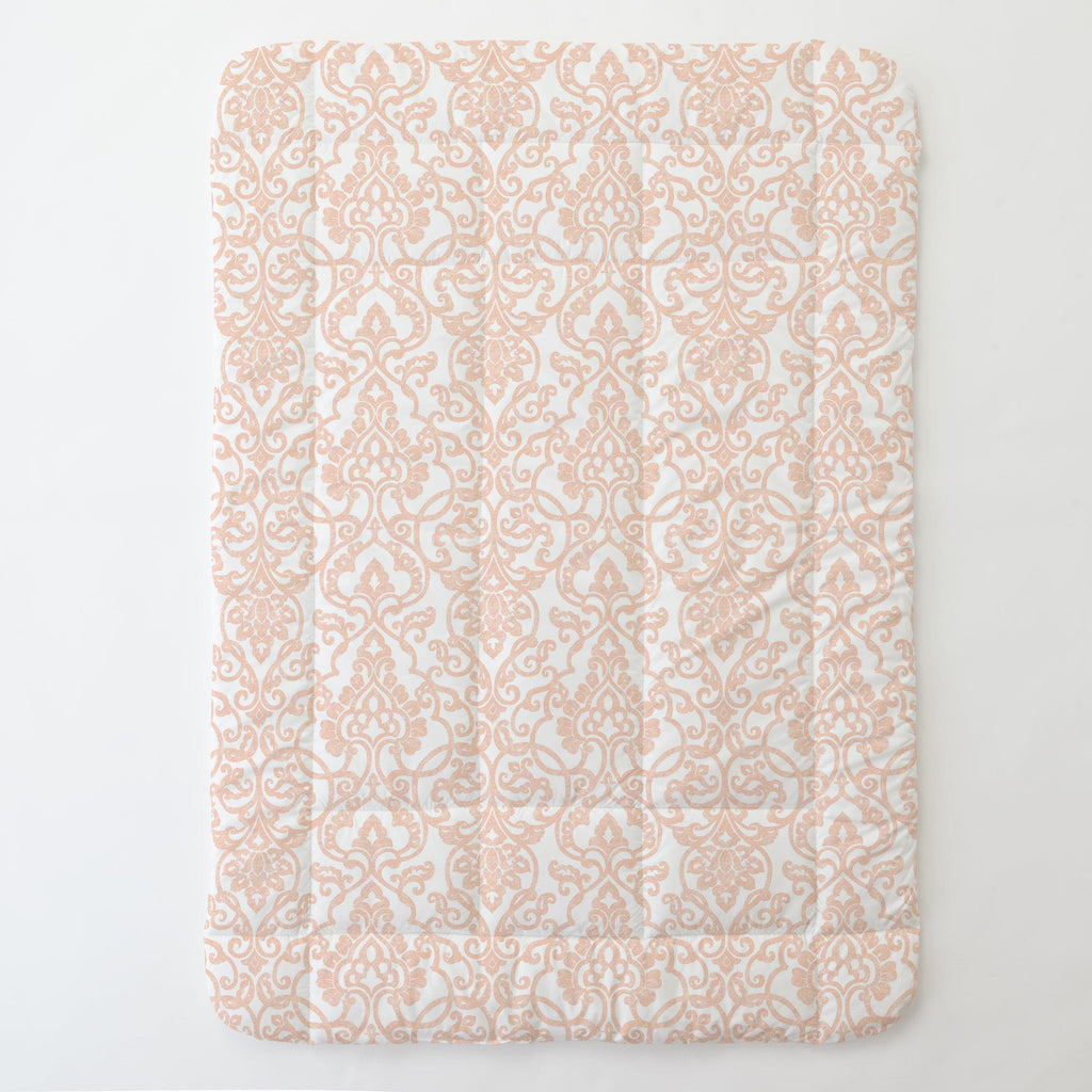 Product image for Peach Filigree Toddler Comforter