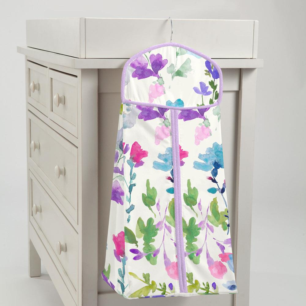 Product image for Bright Wildflower Diaper Stacker