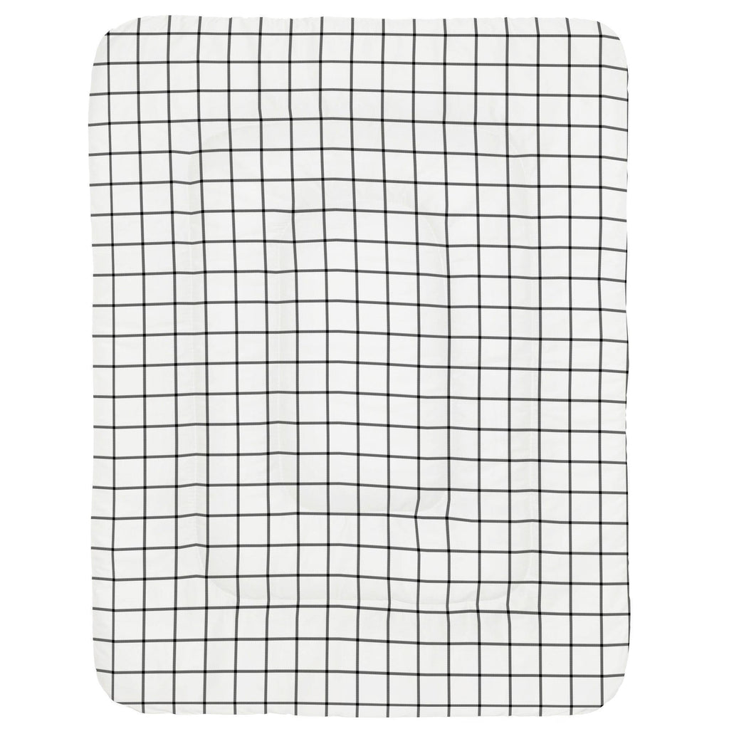 Product image for Onyx Windowpane Crib Comforter