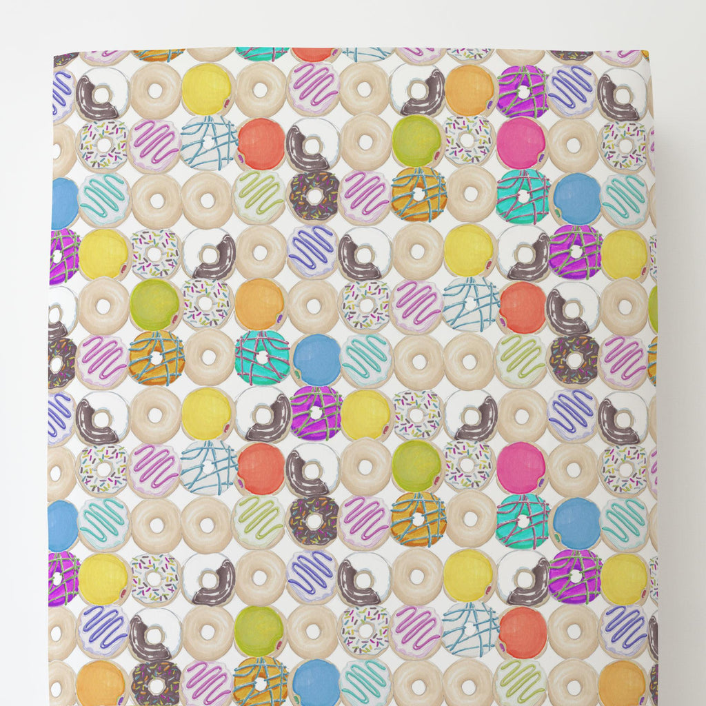 Product image for Donuts Toddler Sheet Bottom Fitted