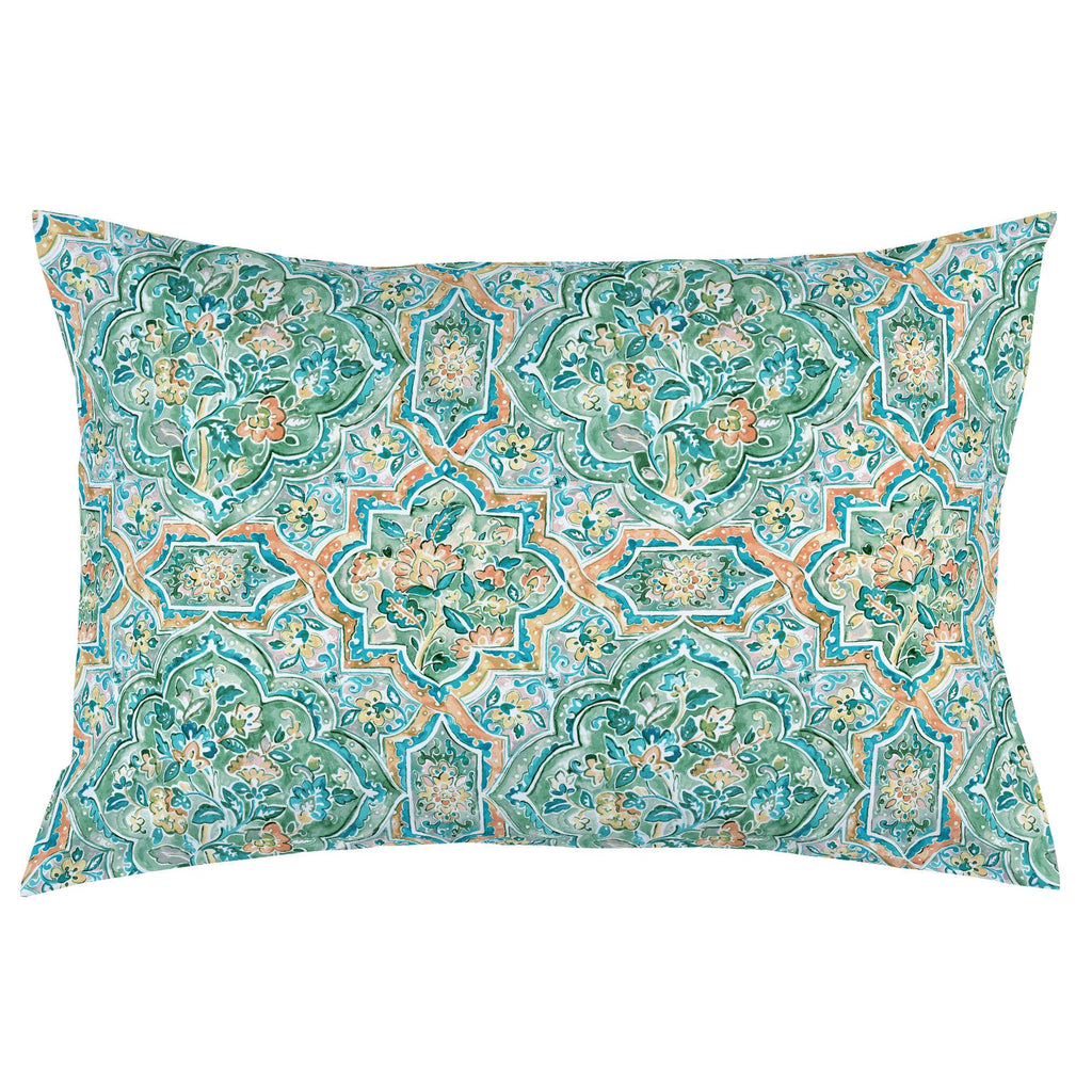 Product image for Watercolor Medallion Pillow Case