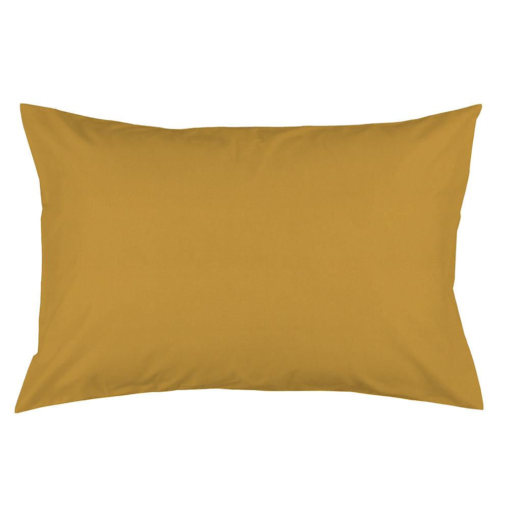 Product image for Solid Mustard Yellow Pillow Case