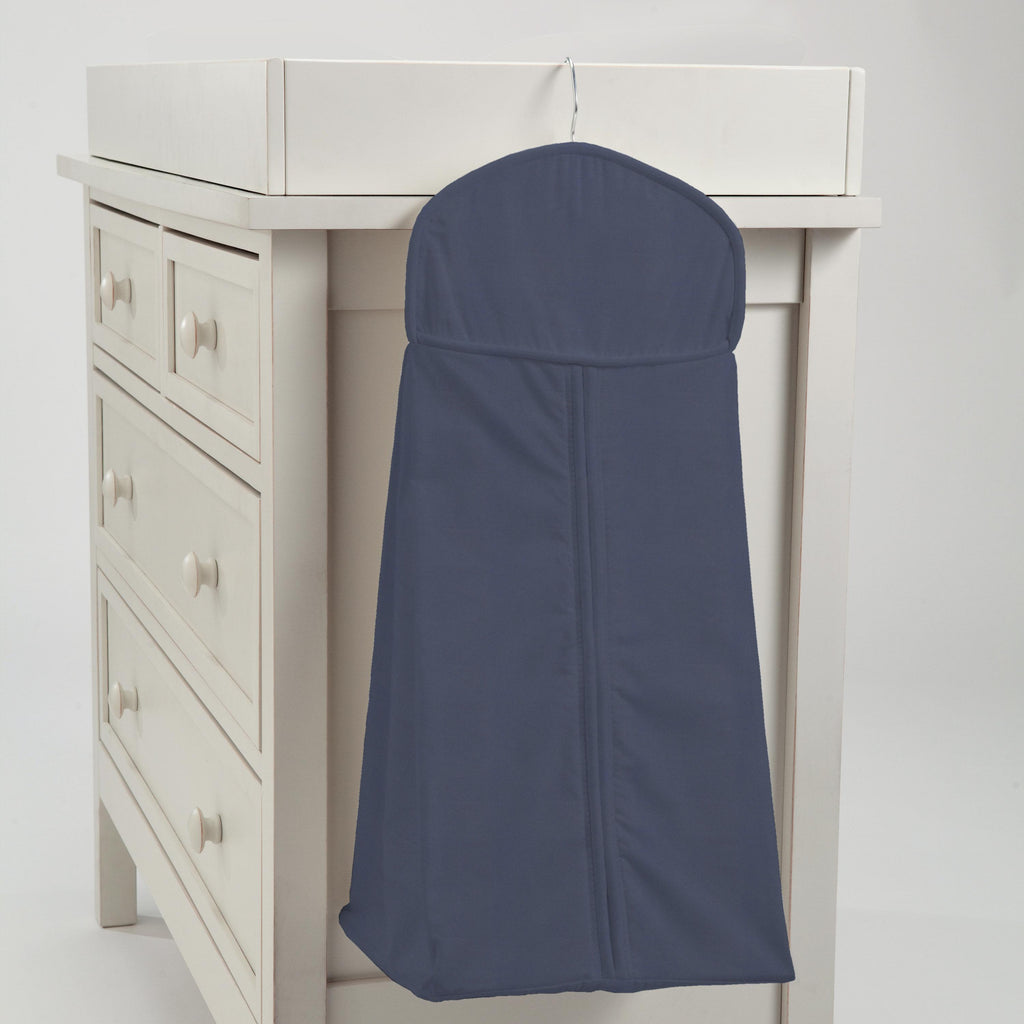 Product image for Solid Navy Diaper Stacker