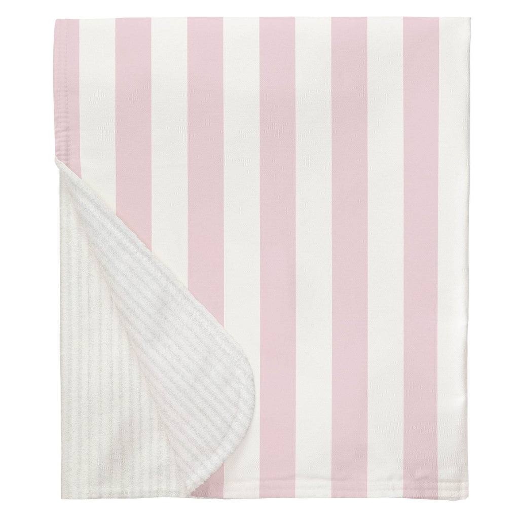 Product image for Pink Stripe Baby Blanket
