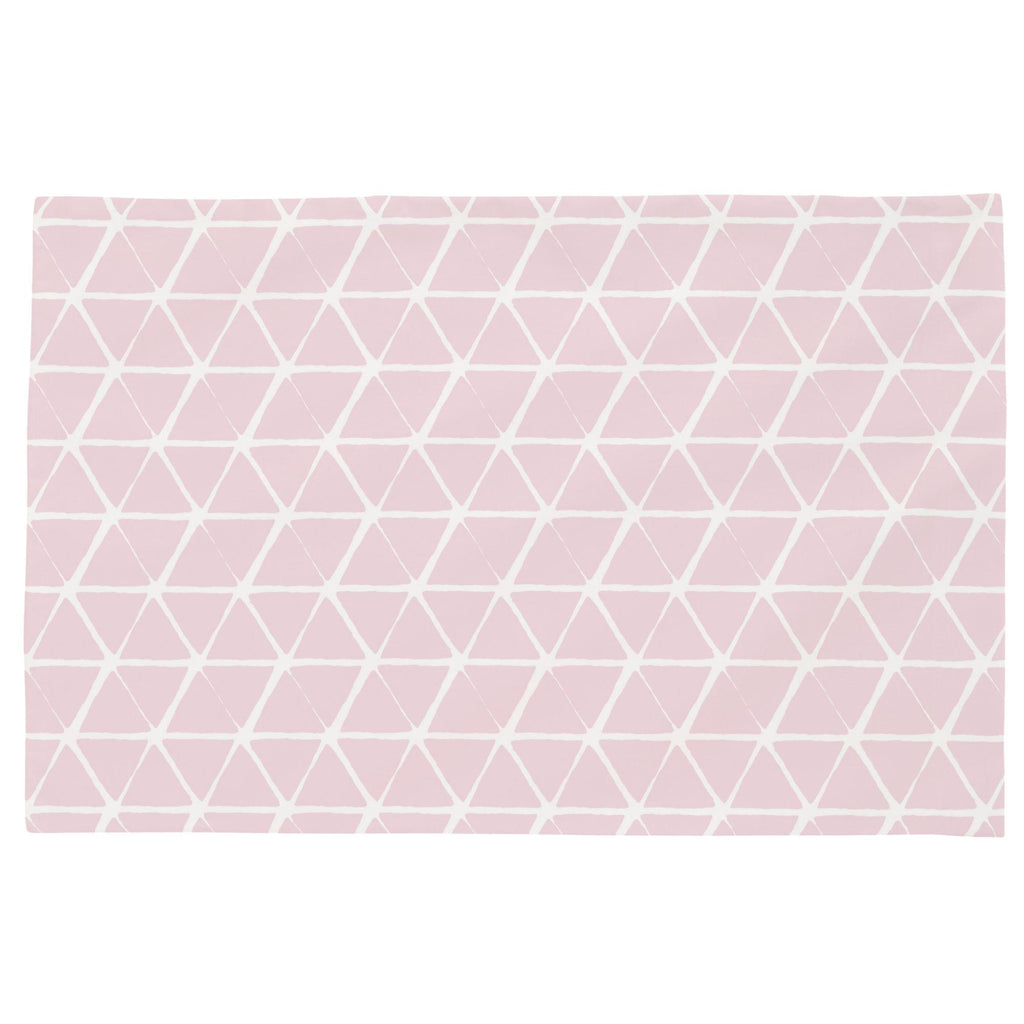 Product image for Pink Aztec Triangles Toddler Pillow Case