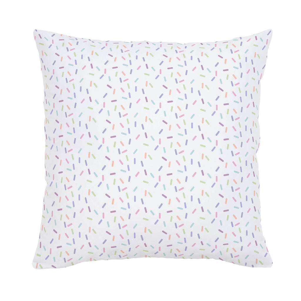 Product image for Pastel Sprinkles Throw Pillow