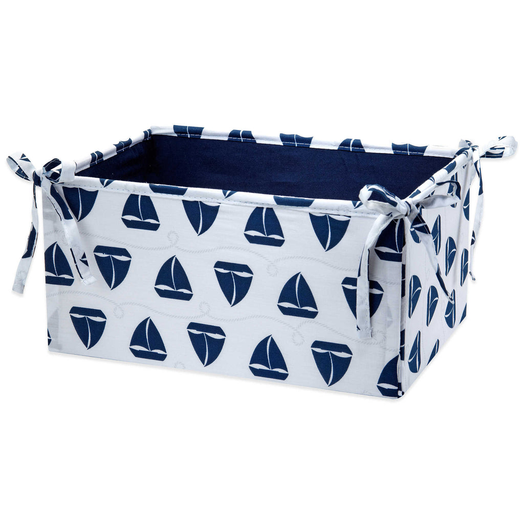 Product image for Navy Sailboats Nursery Organizer