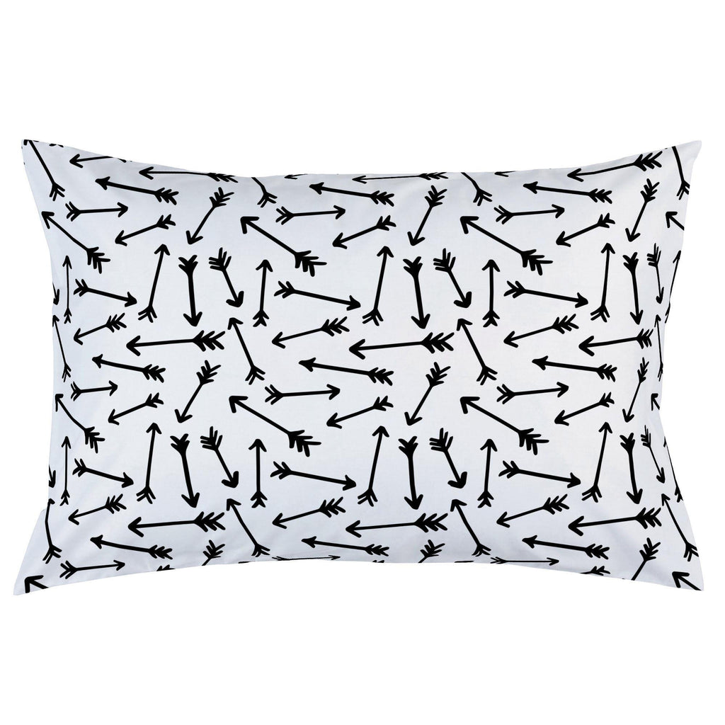Product image for Onyx Whimsical Arrows Pillow Case