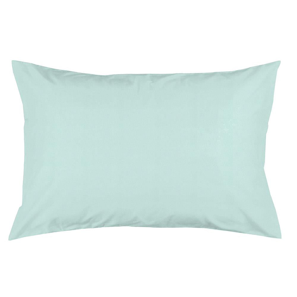 Product image for Solid Seafoam Aqua Pillow Case