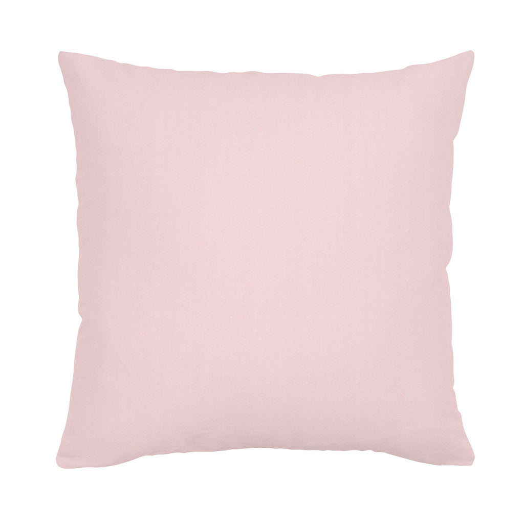 Product image for Solid Pink Minky Throw Pillow