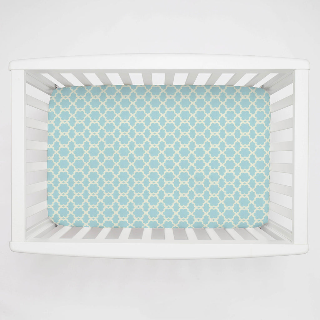 Product image for Kumari Garden Tarika Mini Crib Sheet