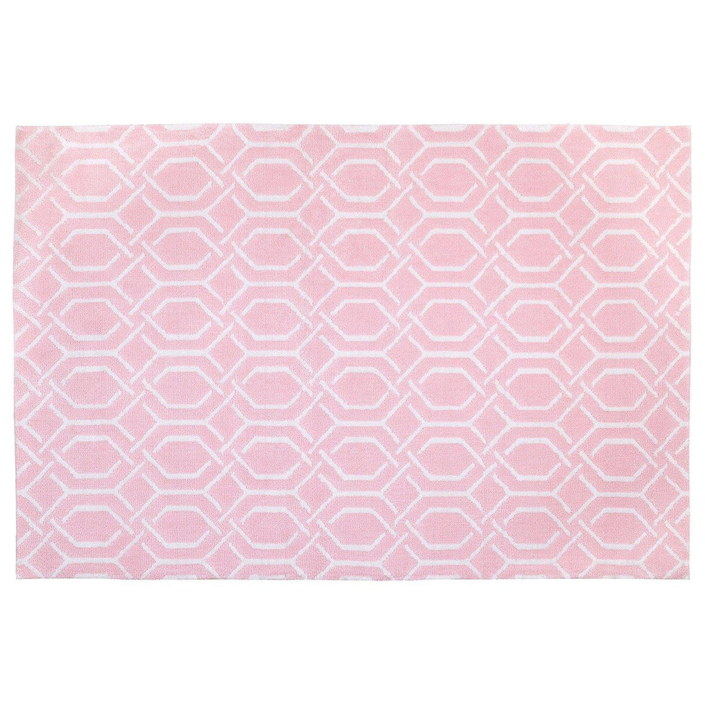 Product image for Pink Trellis Rug