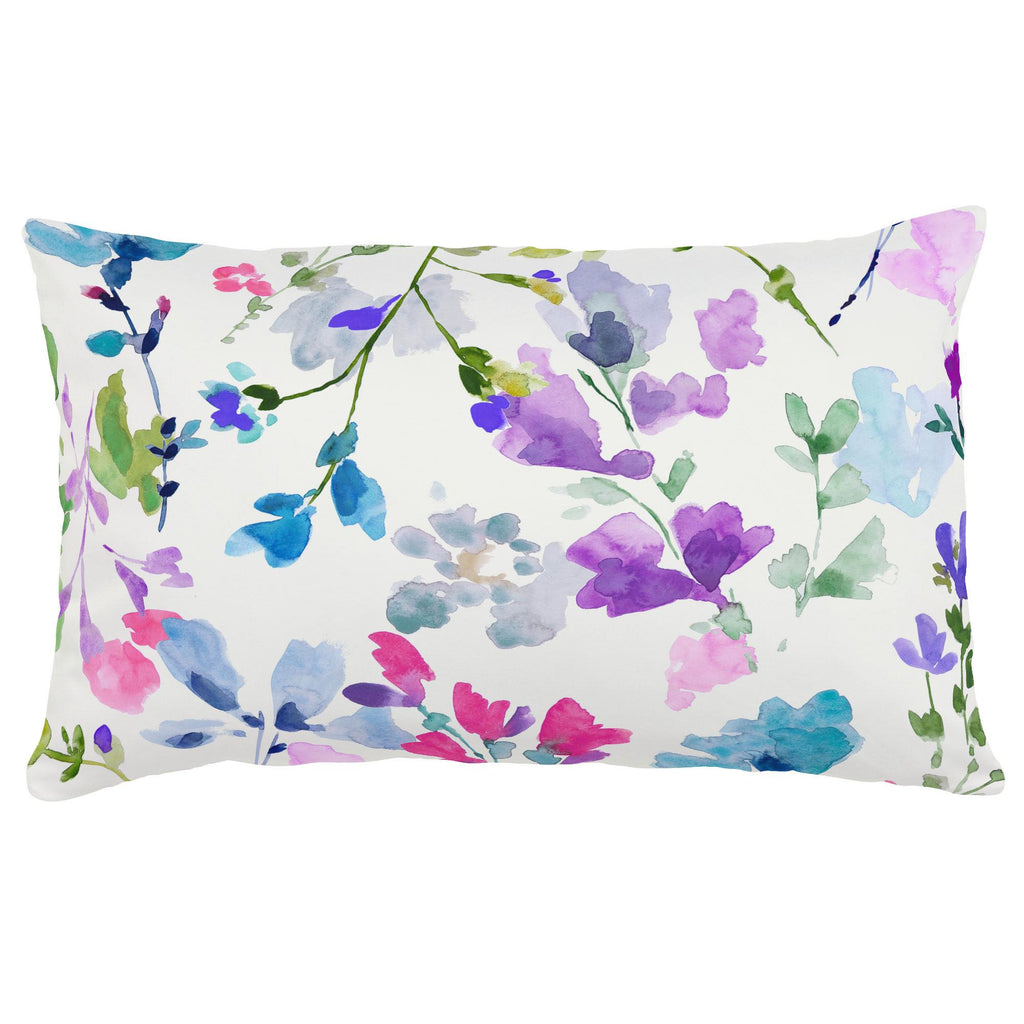 Product image for Bright Wildflower Lumbar Pillow