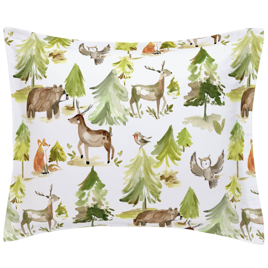 Product image for Painted Forest Pillow Sham