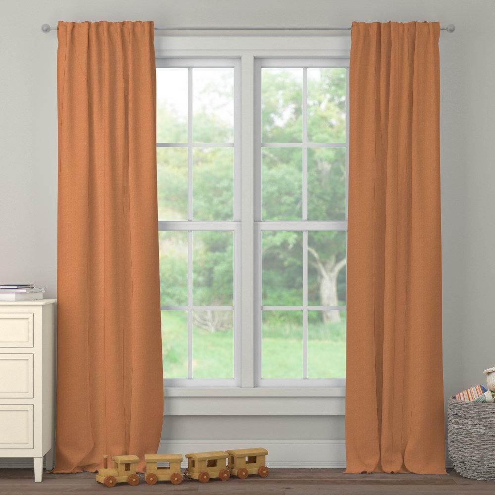 Product image for Fox Orange Heather Drape Panel